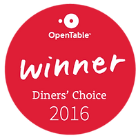Afghan Bistro_2016 Open Table Dinner' Choice Award