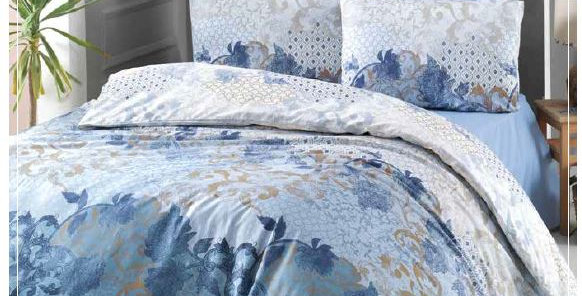 """Nerissa"" -  Luxury Sateen Duvet Cover Set"