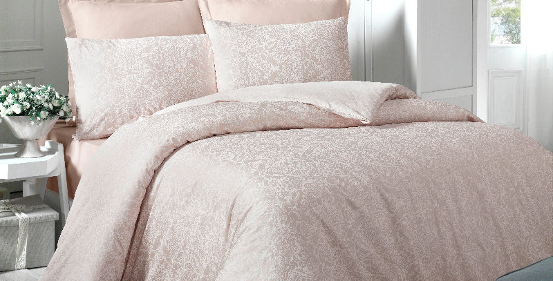 """Cream"" -  Luxury Sateen Duvet Cover Set"