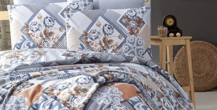 """Diana""- Ranforce Duvet Cover Set"