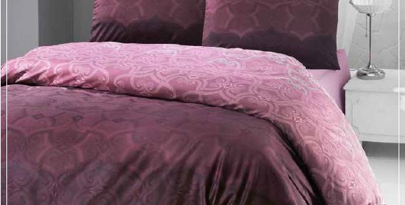 """Pandora Rose"" -  Luxury Sateen Duvet Cover Set"