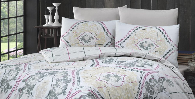 """Cariana""- Ranforce Duvet Cover Set"