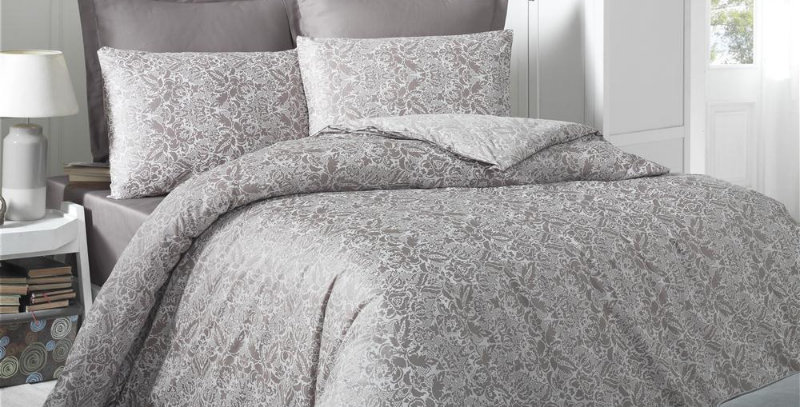 """Cappuccino"" -  Luxury Sateen Duvet Cover Set"