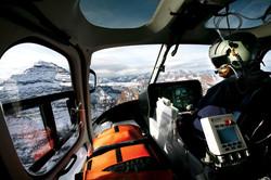 Flight for life in Aspen, Colorado