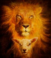 "WE wont forget it's ""Lion and the Lamb"" NOT ""Wolf and the Lamb""    Isaiah 11"