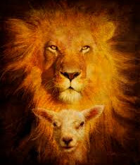 """WE wont forget it's """"Lion and the Lamb"""" NOT """"Wolf and the Lamb""""    Isaiah 11"""