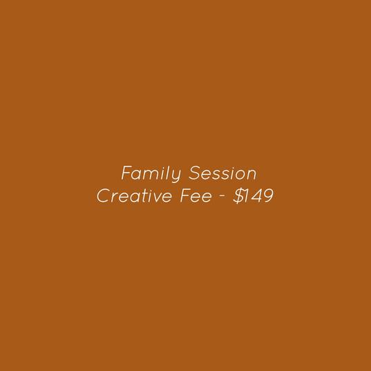 CREATIVE FEE - $149