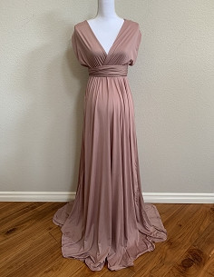 Eternity Gown - Rosewood