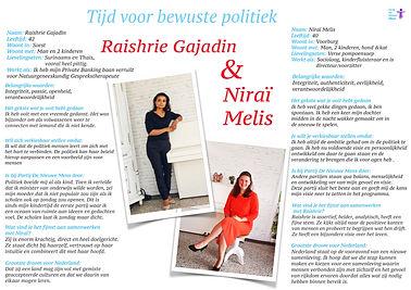 interview lijsttrekkers politieke partij