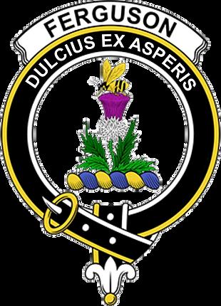 De Crest van de Clan Ferguson
