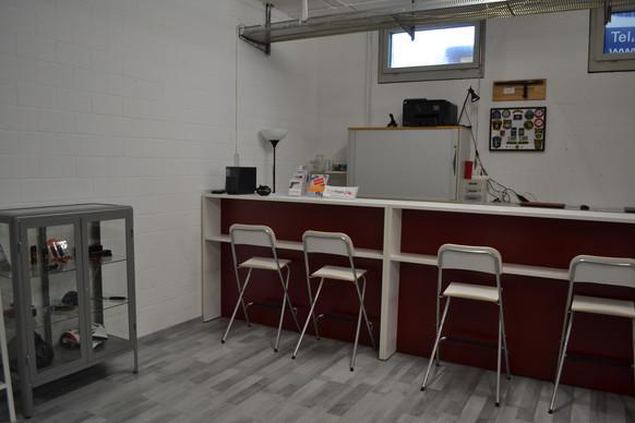 Bar des Trainingscenter