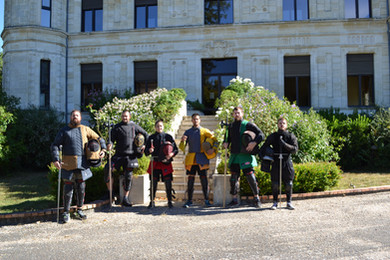 Trainingscamp in Bordeaux