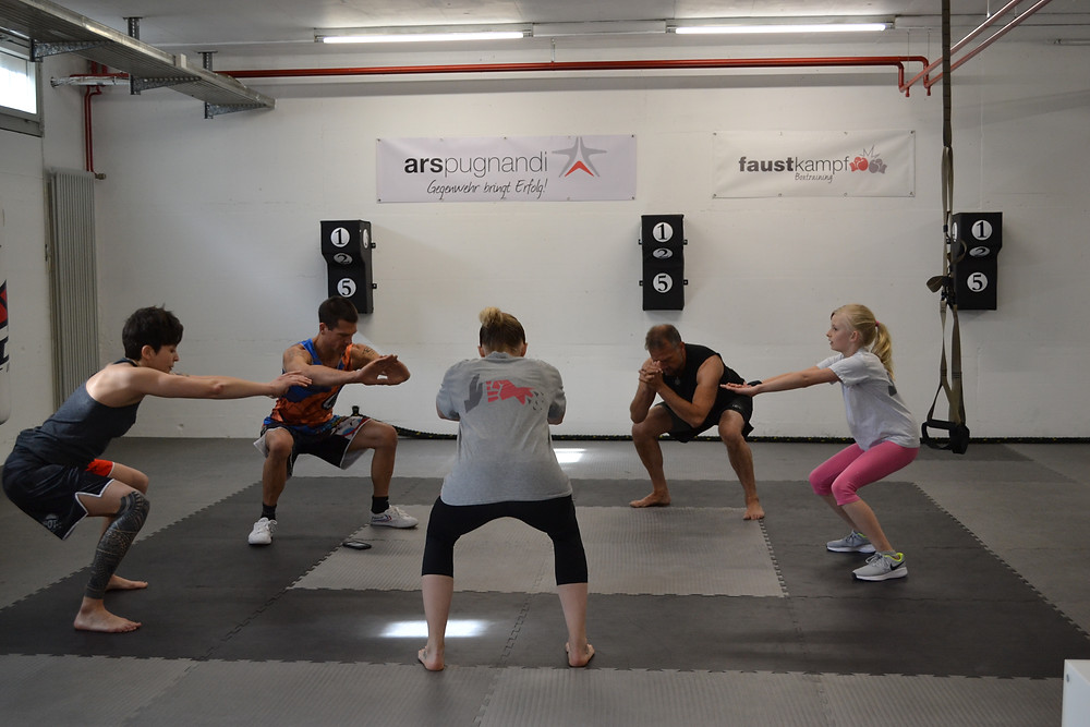 fitness for fighters in Winterthur