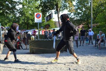 Sparring am Römerfest