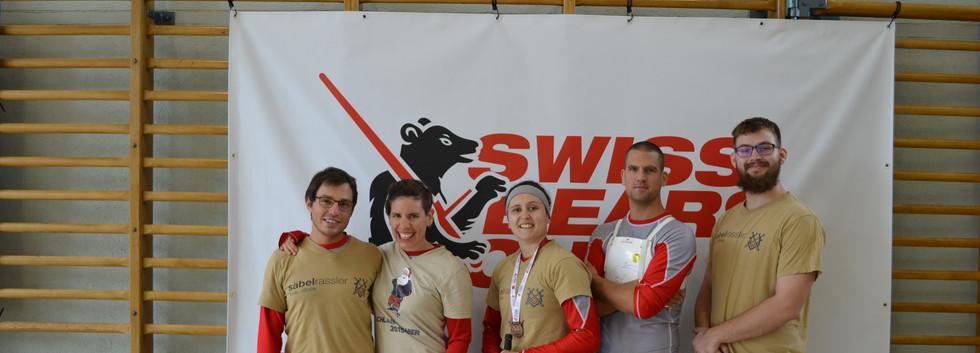 Säbelrassler am Swiss Bears 2020