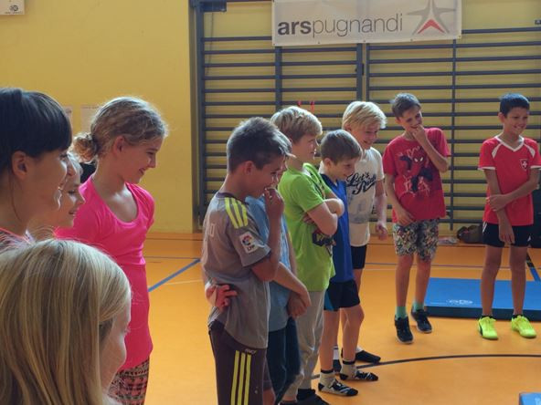 Die Schüler waren überaus interessiert und motiviert.