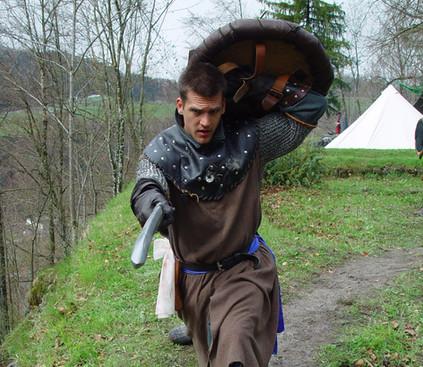 Kurzschwert und Schild