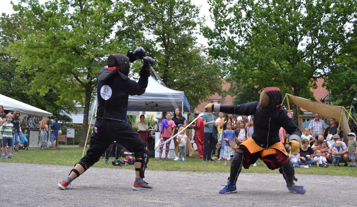 Sparring outdoor