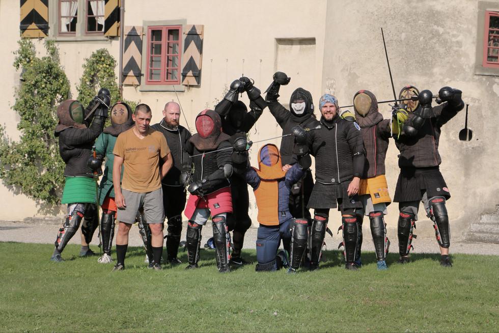 Sparring Treff Schloss Hegi