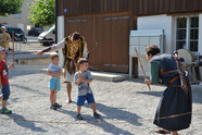 Schwerttraining für Kinder