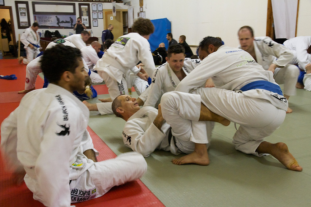 Jiu Jitsu classes in Brighton with Ivam Maciel