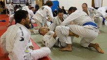 BJJ training in Brighton