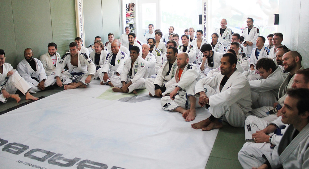 BJJ training Ivam Maciel BJJ