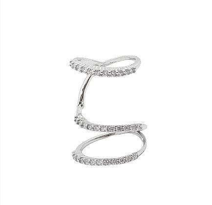 טבעת טריפל סנייק