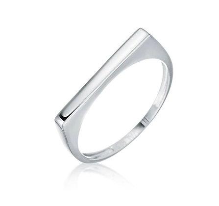 טבעת מלי חלקה