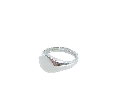 טבעת זרת נוי