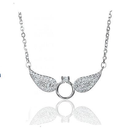 שרשרת כנפי מלאך קטן