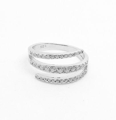 טבעת אמצע מתלפפת