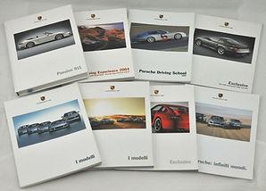 Documentazione tecnica auto storiche, manuali uso e manutenzione, depliants e brochure