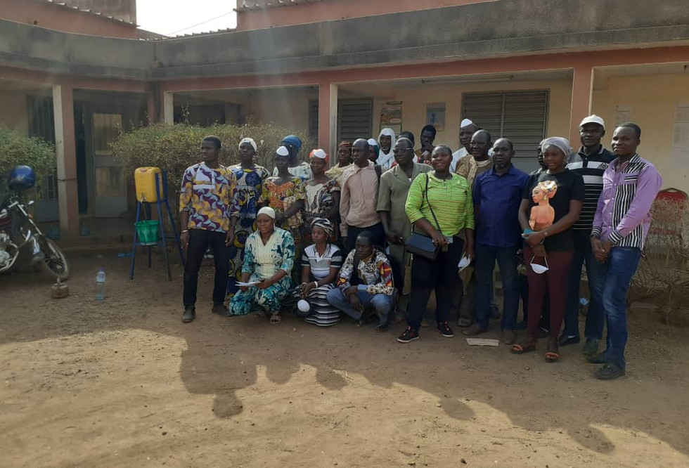 Planter users participanted in the Technology Readiness Assessment and Scaling Gap Analysis for the Single-Row Planter in Tuy Province, Hounde, Hauts-Bassins, Burkina Faso