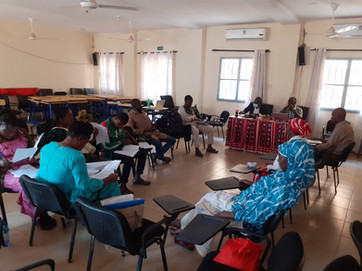 A pre-test session in Bobo-Dioulasso, Hauts-Bassins, Burkina Faso was organized to test the Technology Readiness Assessment and Scaling Gap Analysis intruments with stakeholders to ensure proper functioning before implementation