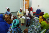 Facilitation of the Scaling Gap Analysis questionnaire in a focus group consisting of the wives of planter owners in Bobo-Dioulasso, Burkina Faso