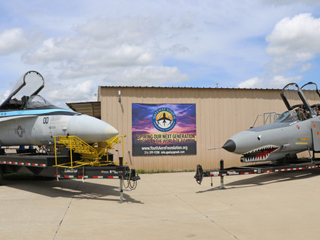 Gateway Youth Aeronautical Foundation Welcomes DreamBig Entertainment Top Gun Maverick Experience