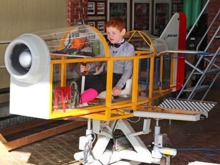 Gateway Youth Aeronautical Foundation Project Update: Helicopter, Flight Simulators, Pedal Car