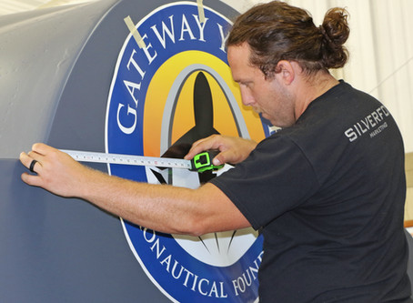 Gateway Youth Aeronautical Foundation F-4 Phantom Cockpit Exhibit Nears Completion