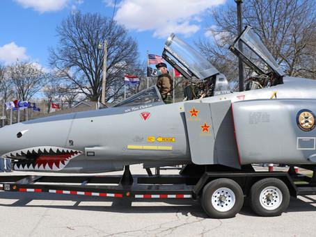 Gateway Youth Aeronautical Foundation F-4 Cockpit Honors Vietnam Veterans
