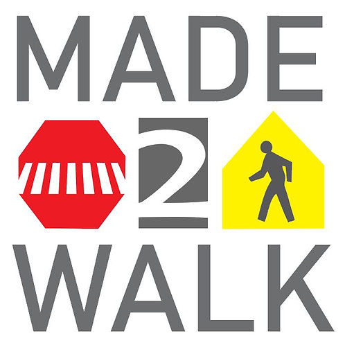 Made2Walk Sticker
