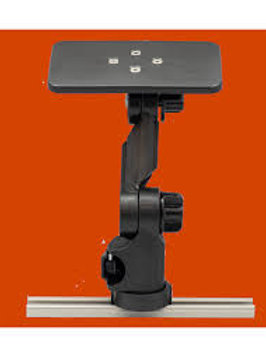 """UNIVERSAL MOUNTING PLATE W/ LOCKNLOAD MOUNTING SYSTEM 6""""X3.5"""""""