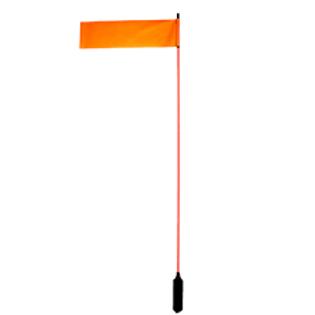 """VISIFLAG 52"""" TALL MAST W/ FLAG"""