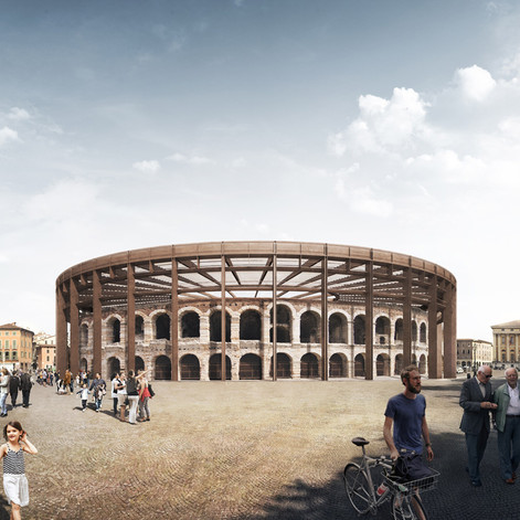 A ROOF FOR THE VERONA ARENA