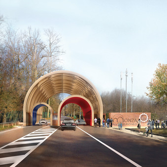 NEW ENTRANCE FOR MONZA RACE TRACK