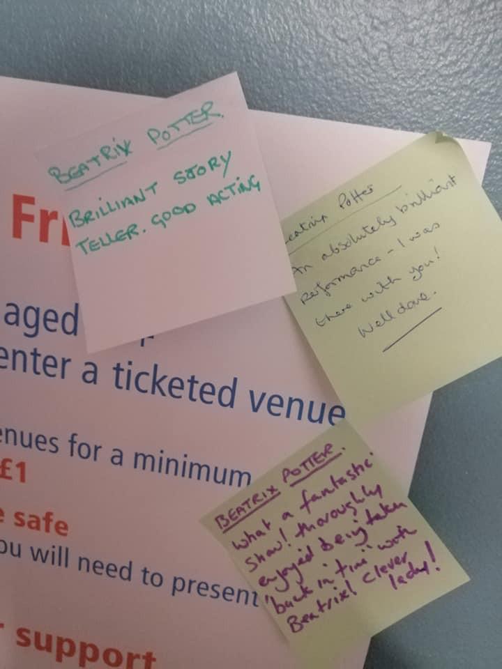 Audiemce reviews Barnstaple TheatreFest 2019