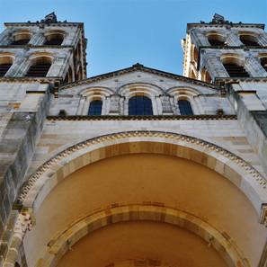 Autun Cathédrale St. Lazare Fassade