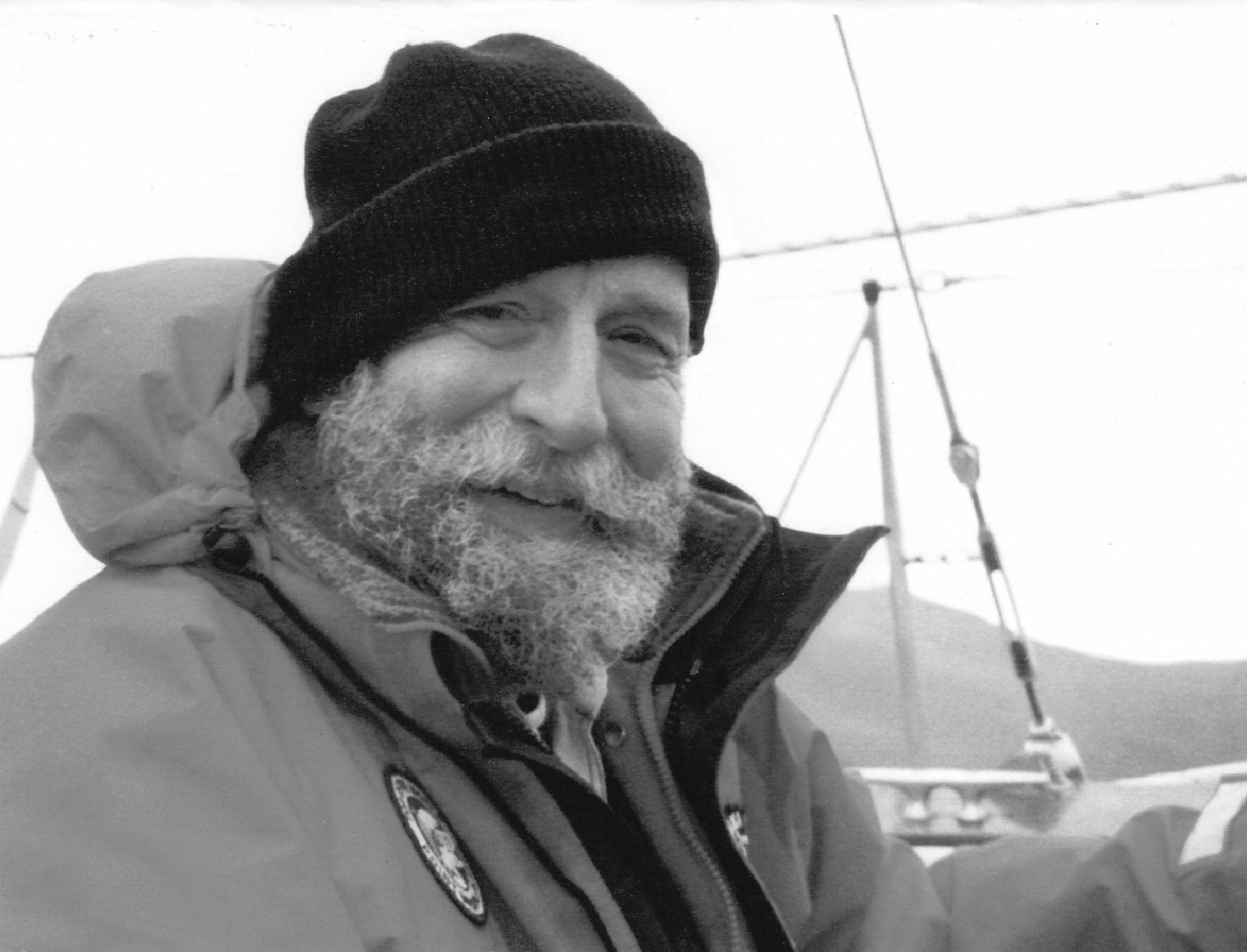 Captain Jack Johnson at Sea
