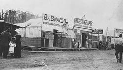 Old Anchorage Street Scene