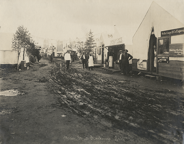 Main Street Old Anchorage 1915